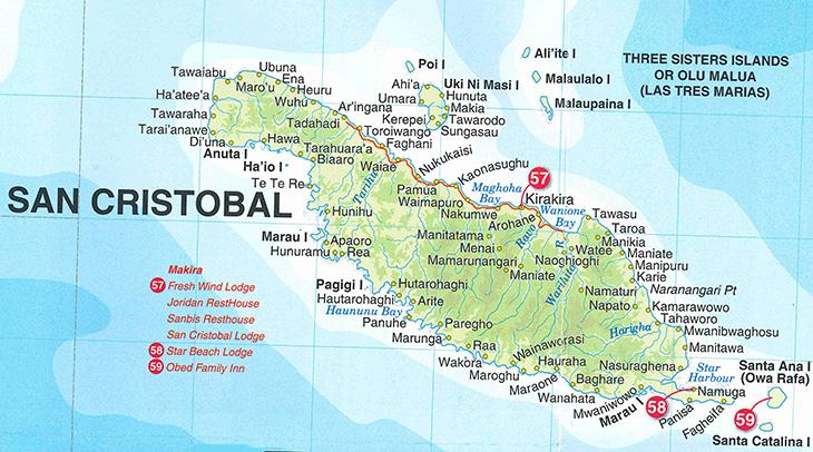 Maps of the Solomon Islands Solomon Islands Activities Solomon
