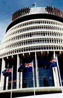 The Beehive - New Zealand's Parliament Building