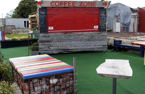 Gap Filler Play Area, Christchurch NZ after the earthquakes
