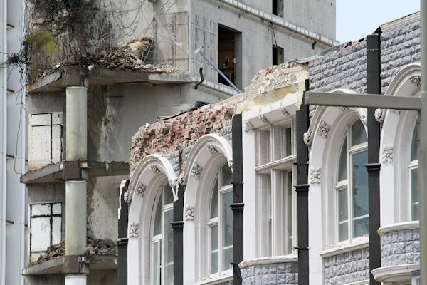 Christchurch NZ after the earthquakes
