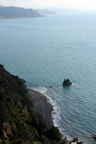 Pacific Coast, East Cape,  New Zealand