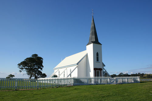 Raukokore Church, New Zealand