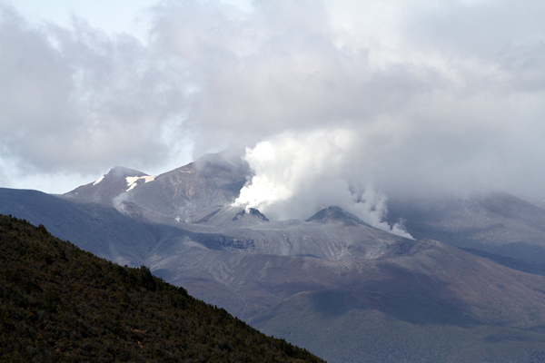 Mt Tongariro Eruption, Central Plateau, NZ.
