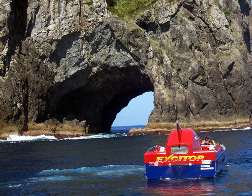 Excitor jet boat, Bay of Islands, NZ