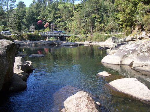 Mclaren Falls Tauranga Bay Of Plenty Travel New